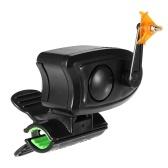 Campana d'allarme per morso di pesce con campanello d'allarme a forma di pesca con clip a LED