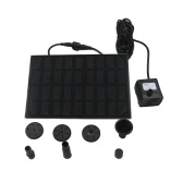 Square 9V 1.8W 200 L/H Solar Fountain Water Pump Panel Kit for Pool Garden Pond Waterpump Aquarium Brushless