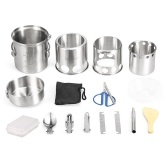 12pcs Camping Kochgeschirr Mess Kit