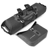 Waterproof 2 in 1 Cycling Handlebar Bag Set Large Capacity MTB Road Bike Bicycle Front Bag Pouch Pannier