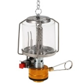 Outdoor Portable Camping Gas Lantern Piezo Ignition Mini Gas Tent Lamp Light
