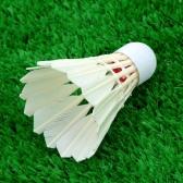 12st Training Wettbewerb Gans Feder Badminton Federbälle Outdoor Sport Zubehör
