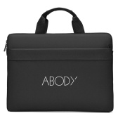 Abody Portable Laptop Bag 15.6 inch Laptop Case Waterproof Oxford Laptop Bag Business Handbag   Briefcase Leisure