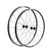 Bicicleta de estrada de liga de alumínio CNC 700C Conjunto de rodas giratórias de reposição para Shimano / Sram cassete de 8 a 10 velocidades