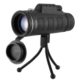 40X60 High Power Magnification Monocular Telescope with Eye Cups Compass and Tripod Wide-angle Monocular Scope