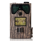 "12MP 1080P Trail Camera 2.0"" LCD Wildlife Scouting Hunting Game Camera 48pcs IR LEDs Night Vision up to 65ft/20m IP55 Waterproof 120° Wide Angle Lens 0.2s Super Fast Trigger Speed"