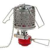 Portable Lightweight Gas Fuel Lantern Outdoor Camping Hiking Detachable Picnic Steel Gas Lamp