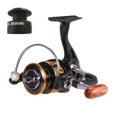 12 + 1BB 5.1: 1 Gear Ratio Carrete de pesca de giro ligero con carrete de repuesto gratuito para River Lake Sea Fishing