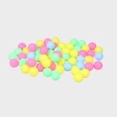 Fine Quality Ping Pong Bolas Surtido de tenis de mesa sin palabras Plastic Ball Bulk Colorido plástico Seamless Decoration Touch Ball Lotería Draw Beer Pong
