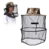 Outdoor Camping Hiking Gardening Bee Keeping Mesh Hat