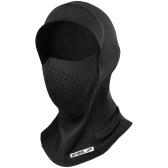 Capa para rosto quente para esportes de inverno Máscara facial de lã polaina para pescoço Boné quente para inverno