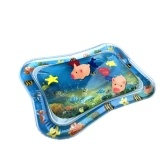 Dual Use Baby Inflatable Patted Pad Babies Inflatable Summer Cool Water Filled Mat Infant Prostrate Soft Air Cushion