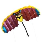 140 * 50cm Frameless Soft linha dupla Stunt Parafoil Kite