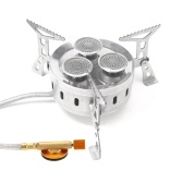 Outdoor Camping 3-burner Gas Stove