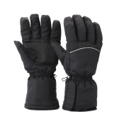 1 Pair Winter USB Hand Warmer Cycling Motorcycle Bicycle Gloves Electric Thermal Gloves Rechargeable Battery Heated Gloves