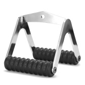 Gym Fitness T-bar For Pulley Cable Machine Back Muscle Workout Row V-shaped Bar Handle Rowing Machine Hand Grips