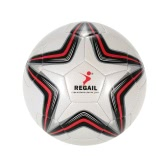 Five-point Star PU Inflatable Football Durable Synthetic Leather Soft Touch Soccer for Younger Teenager Game Soccer Training