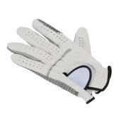 Mano Sinistra respirabile morbido agnello di golf guanti di pelle Golf Guanto uomo Golf Accessori
