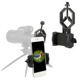 Eyeskey Spotting Scope Adaptador Teléfono Soporte de Montaje Compatible con Telescopio Spotting Alcance Binoculares Monocular