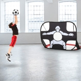 2-en-1 Pop Up Kids Soccer Goal