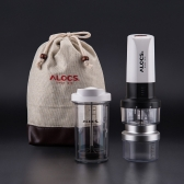 ALOCS KW-K25 Portable Electric Coffee Maker Grinder