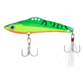 6cm / 15g Full Swimming Vibrazioni VIB Metal Blade Fishing Hard Lures Esche da pesca Fishing Tackles