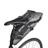 ROSWHEEL 7L防水自転車サドルバッグマウンテンロードMTBバイクシートストラップオンバッグサイクリングテールバッグパニアパック