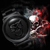 Reloj de moda de cráneo 3D Cool Cool