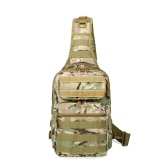 Army Camouflage Tactic Sling Bag Backpack Chest Shoulder Crossbody Pack for Outdoor Hiking Camping Hunting 12L