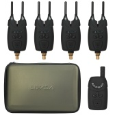 Alertas eletrônicos de pesca Alarme de mordida LED alarme de pesca sem fio Receptor de pesca digital Kit de alerta sonoro com estojo