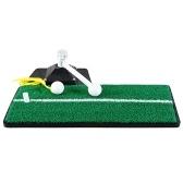 Alfombrilla de swing para práctica de golf Entrenador de potencia de golf Alfombra de entrenamiento de hierba de golf para exterior, interior, jardín, oficina