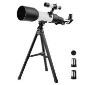 Астрономический рефракторный телескоп монокуляр для путешествий на открытом воздухе зрительная труба со штативом для детей подарок для начинающих