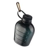 Botella de agua de gran capacidad de 1000 ML, hervidor de agua portátil verde militar, hervidor de agua para deportes al aire libre, comedor verde del ejército