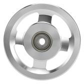Универсальный алюминиевый сплав подшипник шкив колеса спортзал детали аксессуаров для фитнес-оборудования