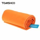 TOMSHOO 75 * 130cm Mikrofaser schnell trocknen Handtuch kompakt Reisen Camping Strand zum Schwimmen Körper Fitness-Studio Sport Badetuch