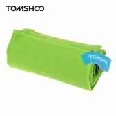 TOMSHOO 75 * 130cm microfibra Quick Travel compacto Camping Playa baño cuerpo gimnasio deportes toalla de secado