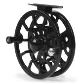 Fliegenfischen Reel Aluminiumlegierung Angelrolle 3/4/5/6/7/8 Gewicht 2 + 1 Kugellager Links Rechts Austauschbare Fliegenrolle