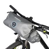 ROSWHEEL 12L de gran capacidad a prueba de lluvia bolsa de manillar de la bicicleta ciclismo Mountain Road MTB bicicleta marco frontal mano bolsa de pañuelo de la barra