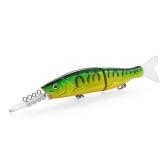 15.5 cm / 14g Minnow Plastica Artificiale Strumenti di Pesca Congiunto Fishing Lure Due Sezioni Esca Alta Imitazione Swim Bait