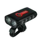 Luz recargable de la bici de Y10 600LM USB