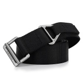 Heavy Duty Tactical Belt for Outdoor Camping Mountaineering Climbing Training Hunting
