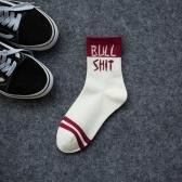 Lustige sportliche Persönlichkeit Coole Paare Socken