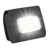 Luzes de segurança LED Luzes de corrida clipe no colarinho USB recarregável luz de colarinho mãos livres para acampar correndo