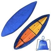 Lixada Universal Kayak Canoe Boat Cover mit Aufbewahrungstasche Wasserdichter Staubschutz Aufbewahrungshülle Shield