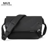 MARK RYDEN New Style Fashion Man Single Shoulder Pack Leisure Student Tooling Package Black Zipper Single Shoulder Pack