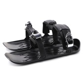 Mini Ski Skates Snow Shoes Shoes for Snow Short Ski Board Single Sled Winter Outdoor Sport