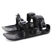 Mini Ski Skates Schneeschuhe Schuhe für Snow Short Ski Board Single Sled Winter Outdoor Sport
