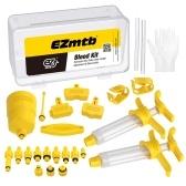 Комплект для прокачки тормозов Велосипед Гидравлический дисковый тормозной механизм Инструмент для прокачки масла