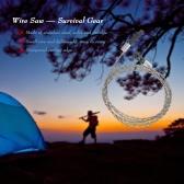 Draht sah Camping Wandern Überleben Saw Outdoor-Survival-Tool Kit Überlebensausrüstung