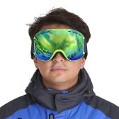TOMSHOO OTG Winter Snow Sports Ski Goggles